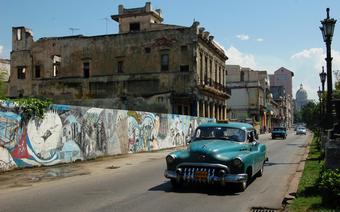 Kamienice w centrum Hawany
