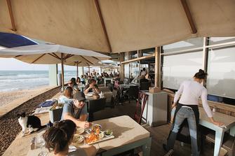Tel Awiw: Restauracja Manta Ray
