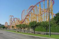 Kalifornia: Park rozrywki Six Flags Magic Mountain
