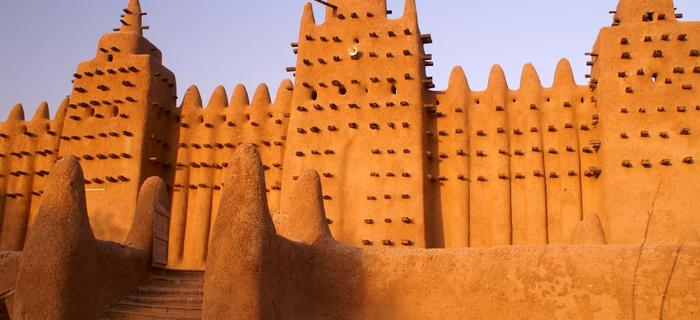 Wielki Meczet w Dżenne w środkowym Mali