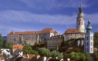 Zamek w Czeskim Krumlowie