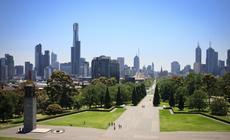 Melbourne jest jednym z najbardziej zielonych miast Australii