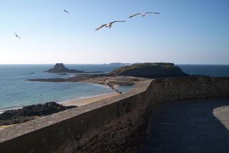 Saint Malo: Apartamentowiec Reine Marine