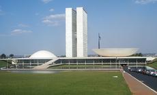 budynek kongresu narodowego w Brasilii