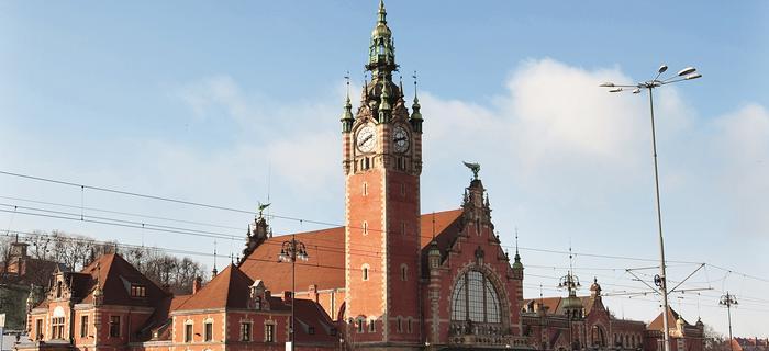 Gdańsk wita przyjezdnych dostojnym dworcem głównym