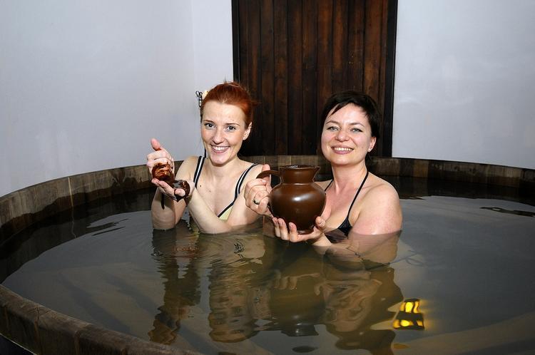 Kąpiel czekoladowa w Kasztelu Rycerskim