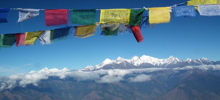 Z widokiem na Manaslu i Ganesh Himal