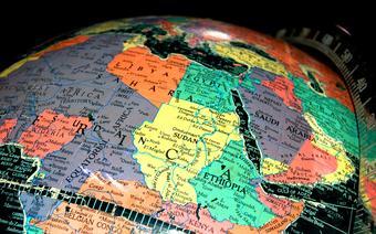Mapa Afryki, za moment nieaktualna