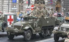 Parada militarna w Bielsku-Białej