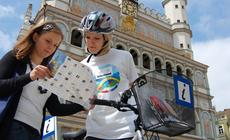 Informatorzy na rowerach w Poznaniu