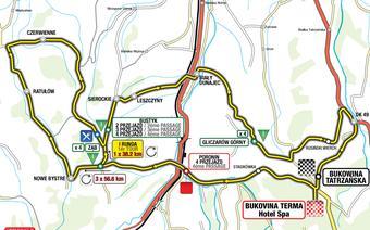 mapa bukowina