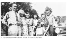 Rodzina Chouinard, Kalifornia 1946 rok