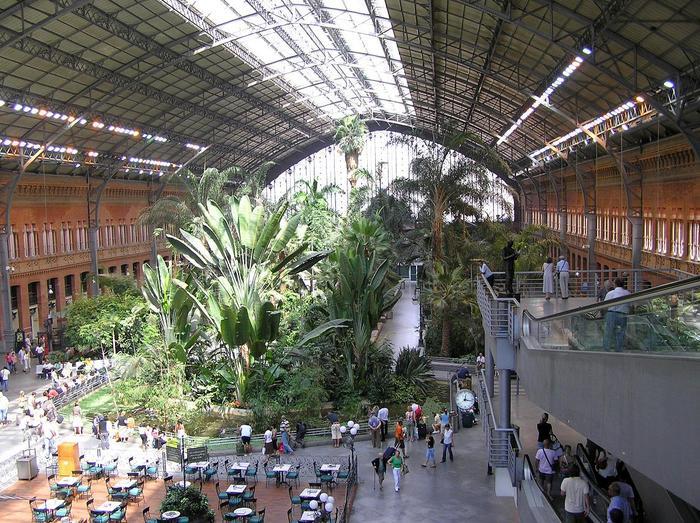 Dworzec Atocha w Madrycie