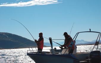 Norwegia, Efjord na Lofotach to doskonałe miejsce na łowienie z łódki