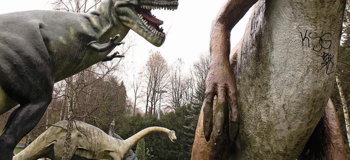 Dinozaury straszą w Parku Kultury i Wypoczynku od 1975r.