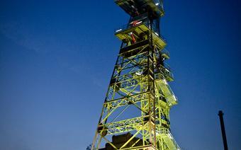 Nieczynny szyb Kopalini Węgla Kamiennego Katowice
