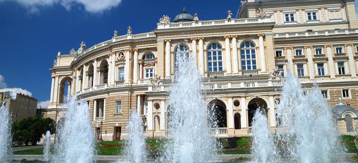 Budynek opery w Odessie