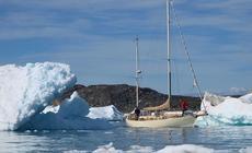 Jacht Anna na wodach Oceanu Arktycznego