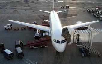 Samolot na Okęciu