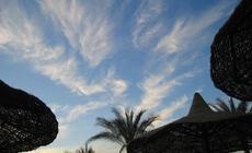 Hotelowa plaża w Sharm el Sheikh
