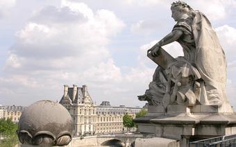 Widok z tarasu w Muzeum Orsay