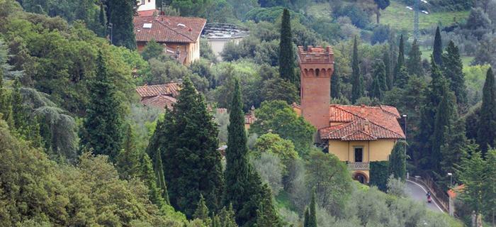 Zielone pogórki Toskanii