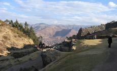 Widok na Cuzco, miasto położone na wysokości 3326 m n.p.m
