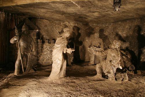 Kaplica św. Kingi w kopalni soli w Wieliczce