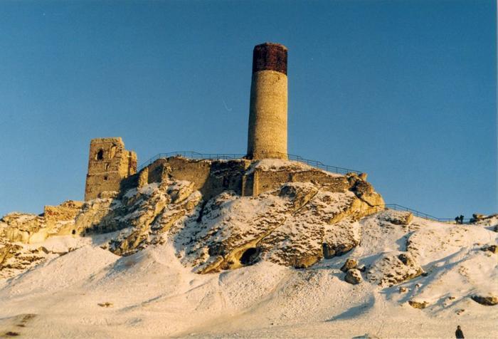 Ruiny zamku w Olsztynie (Jura Krakowsko-Częstochowska)