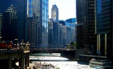 Chicago River w Chicago