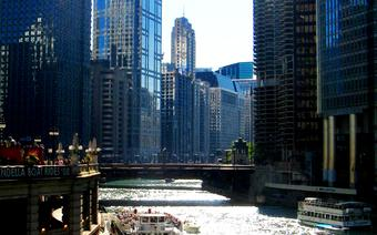 Chicago River w Chicago