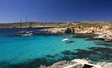 Malta. Wyspa Comino