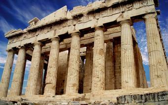 Na czas strajków zamkniety został również Akropol