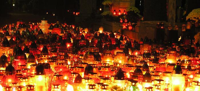 Powązki 1 listopada