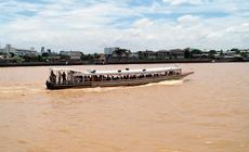 Rzeka Chao Phraya w Bangkoku