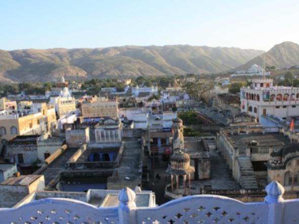 Widok z hoteleowego tarasu