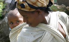Dziecko w Etiopii