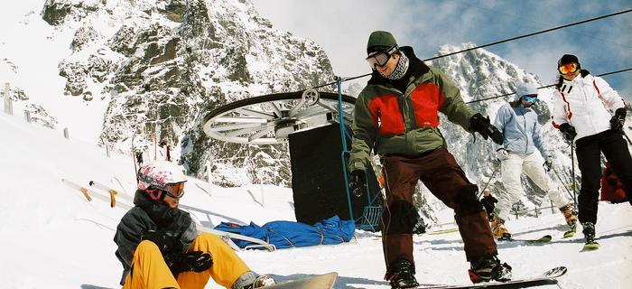 Słowackie Tarry Wysokie to doskonałe miejsce na narty