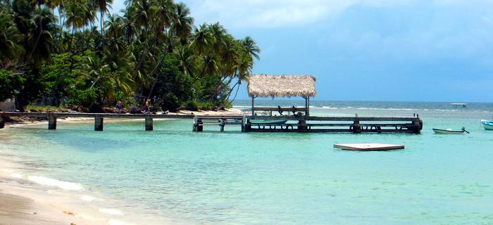 Rajskie plaże Trynidadu