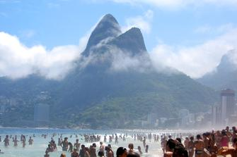 Rio de Janeiro: plaża na Ipanema