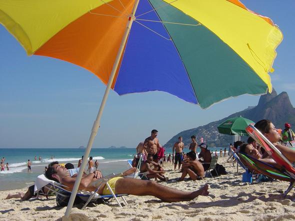 Plaża na Ipanema
