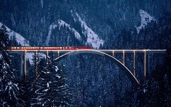 Podróże pociągiem po Szwajcarii
