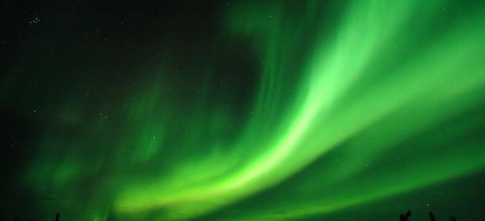 Zorze Polarne najlepiej obserwować zimą podczas długich nocy polarnych