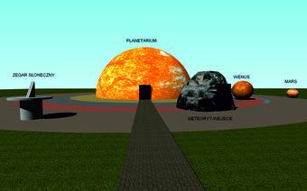 Wizualizacje autorstwa zespółu projektowego naukowców UAM. Ostateczny kształt nada pawilonom zwycięzca konkursu.