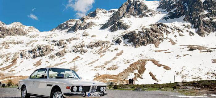 Mój faworyt do podróżowania przez Alpy. 3.0 CSI
