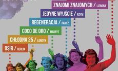 Plakat imprezy  Warsaw in Between