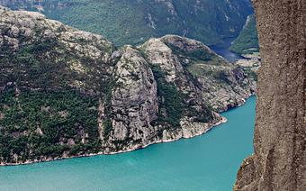 Preikestolen. Norwegia