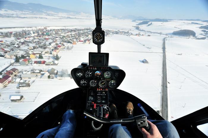 Loty śmigłowcem nad Tatrami