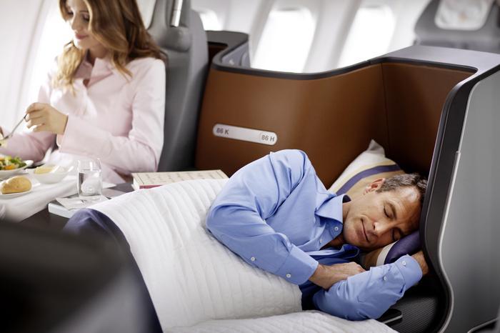 Wyśpij Się W Samolocie Lufthansy Nowe Fotele Z Funkcją