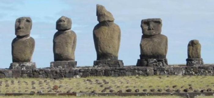 wyspa wielkanocna posągi